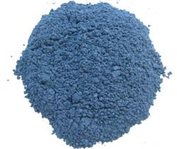 藍の粉末画像