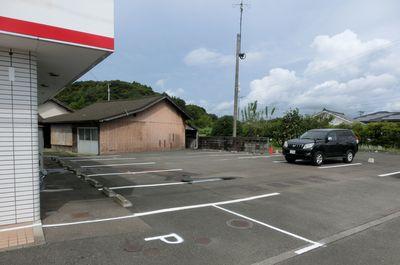 宮崎市広原のランチのとディナーのお店 外山食堂の駐車場