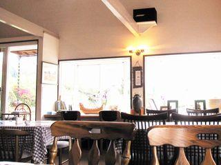古代の風 農家喫茶店内風景です